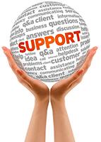 support-globe